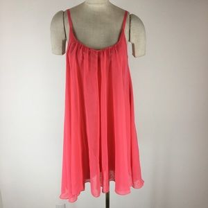 Sanctuary clothing women's dress size medium coral